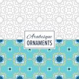 Ost-nahtloses Verzierungs-Muster Marokkos Lizenzfreies Stockbild