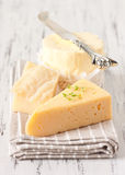 Ost och smör. arkivfoton