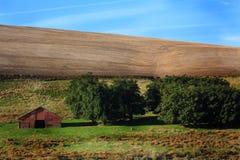 Ost-Oregon-Ackerland Lizenzfreies Stockfoto