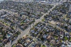 Ost-San Fernando Valley Aerial Lizenzfreies Stockbild