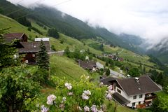 Ost Tirol, Austria. Beautiful village in the mountains of East Tirol, Austria Stock Photography