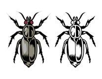 ostacola la mascotte dell'animale del fumetto può usare per il logo di sport Immagini Stock