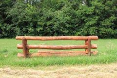 Ostacolo di equitazione Immagini Stock Libere da Diritti