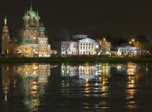 ostankino νύχτας κτημάτων χωρών Στοκ Φωτογραφίες