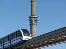 ostankino της Μόσχας μονοτρόχιων σιδηροδρόμων Στοκ φωτογραφίες με δικαίωμα ελεύθερης χρήσης