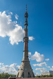 Ostankino Communication Tower. Royalty Free Stock Photos