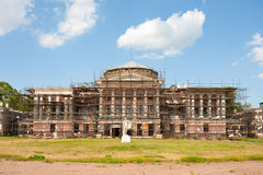 Ostankino Palace under reconstruction Royalty Free Stock Images