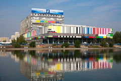 Ostankino Technical Center building Royalty Free Stock Photos