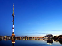 Ostankino television tower Royalty Free Stock Photography