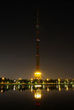 Ostankino Television Tower in Moscow Royalty Free Stock Photography
