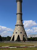 Ostankino television tower in Moscow, Russia. Stock Images