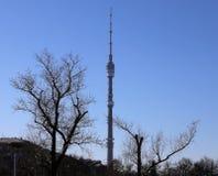 Ostankino Tower, Moscow Stock Photos