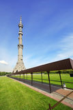 Ostankino Tower at summer day Stock Image