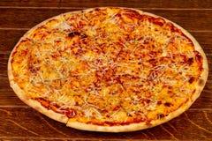 Ostar för pizza fyra Arkivbild