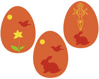 Ostara eggs Stock Photography