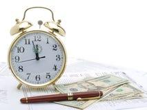 ostatecznego terminu podatek Obrazy Stock
