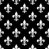 Ostatki Karnawałowy bezszwowy wzór z lis Ostatki niekończący się tło Zdjęcia Royalty Free