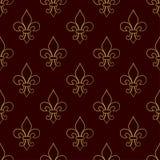 Ostatki Karnawałowy bezszwowy wzór z lis Wektorowa ilustracja EPS10 Obraz Royalty Free