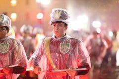 Ostatki parada Nowy Orlean obrazy royalty free