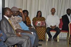 Ostatni dom matka prezydent Laurent Gbagbo Zdjęcia Stock