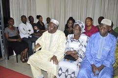 Ostatni dom matka prezydent Laurent Gbagbo Obrazy Stock