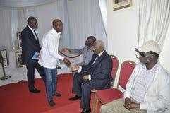 Ostatni dom matka prezydent Laurent Gbagbo Obraz Stock