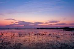Ostatni lekki Thailand Zdjęcie Royalty Free