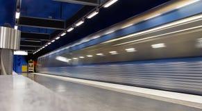 Ostatni pociągów liście Zdjęcie Stock