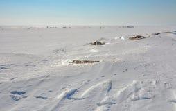 Ostatni weekend Marzec na zatoce Finlandia Zdjęcie Stock