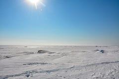 Ostatni weekend Marzec na zatoce Finlandia Zdjęcia Royalty Free