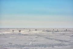Ostatni weekend Marzec na zatoce Finlandia Obrazy Stock