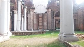 Ostatnia świątynia w drewnach zdjęcia stock