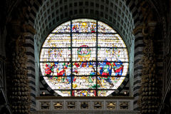 Ostatnia kolacja przy Siena katedrą, Siena, Tuscany, Italy Obraz Stock