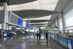 Ostbahnhof Chengdus Stockfotos
