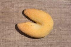 Ostbröd som är bekant som Chipa i Brasilien som formas som en hästsko Arkivfoto