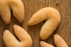 Ostbröd som är bekant som Chipa i Brasilien som formas som en hästsko Royaltyfri Bild