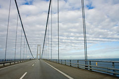 Ostbroen bridge Royalty Free Stock Photos
