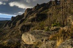 Osteinlass-Spur, Rocky Mountain National Park Lizenzfreie Stockfotos
