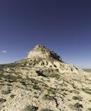 Osten- und Westpawnee Buttes in nordöstlichem Colorado Stockfotografie