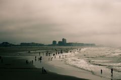 Ostend beach seascape Stock Photo