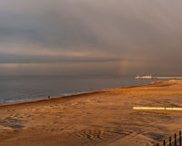 Ostend plaża Zdjęcia Royalty Free