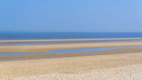 Ostende, beach stock photo