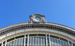 Ostende railway station stock photography