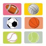 Ostenta bolas Imagem de Stock Royalty Free