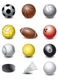 Ostenta esferas Imagem de Stock