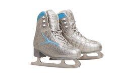 Ostenta a figura patins isolados no fundo branco Imagens de Stock
