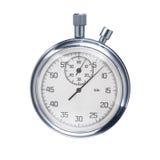 Ostenta o cronômetro isolado em um fundo branco Imagens de Stock Royalty Free
