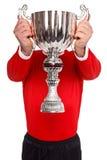 Ostenta o troféu Imagens de Stock Royalty Free