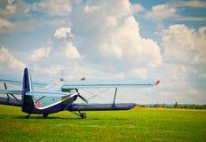Ostente o avião Imagem de Stock Royalty Free