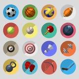 Ostente os ícones ajustados Fotografia de Stock Royalty Free